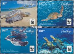 Penrhyn 761-764 (kompl.Ausg.) Postfrisch 2014 Pazifische Suppenschildkröte - Penrhyn