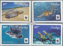 Penrhyn 757-760 (kompl.Ausg.) Postfrisch 2014 Pazifische Suppenschildkröte - Penrhyn