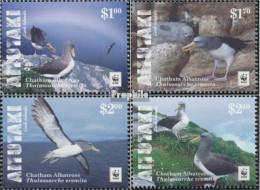 Aitutaki 966-969 (kompl.Ausg.) Postfrisch 2016 Chatham-Albatros - Aitutaki