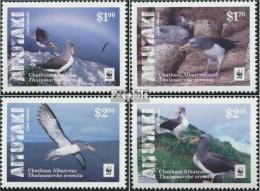 Aitutaki 962-965 (kompl.Ausg.) Postfrisch 2016 Chatham-Albatros - Aitutaki