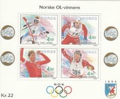 NORWAY Block 19,unused - Winter 1994: Lillehammer