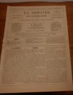 La Semaine Des Constructeurs. N°12. 30 Septembre 1876. Privilège Du Propriétaire. La Maison D'aliénés à Osnabruck. - Livres, BD, Revues