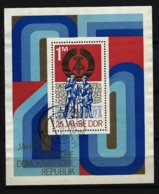 DDR - Block Nr. 41 - 25 Jahre DDR Gestempelt LEIPZIG - Bloques