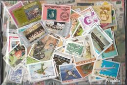 Nicaragua Briefmarken-600 Verschiedene Marken - Nicaragua
