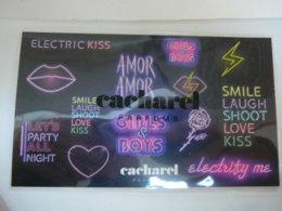 CACHAREL: CARTE STICKERS     LIRE ET VOIR !! - Miniatures Womens' Fragrances (without Box)