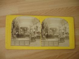 Stereo Exposition Universelle 1867 Paris Exposition Ottomane Turquie Photo Stereoscopique - Fotos Estereoscópicas