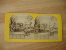 Stereo Exposition Universelle 1867 Paris Exposition Ottomane Turquie Photo Stereoscopique - Stereoscoop