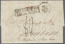 Transatlantikmail: 1930, USA-NETHERLANDS, Folded Letter From BALTIMORE To Schiedam, Holland With For - Sonstige - Europa
