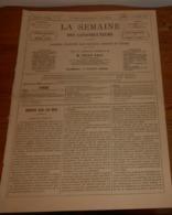 La Semaine Des Constructeurs. N°13. 7 Octobre 1876. Combattre L'humidité Dans Les Murs. Futur Collège à Fontainebleau. - Livres, BD, Revues