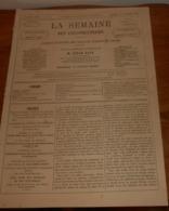 La Semaine Des Constructeurs. N°14. 14 Octobre 1876. L'Entrepôt De Bercy. Nouveau Cirque Fernando. Monte-plats. - Livres, BD, Revues