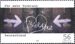 BRD 2235 (kompl.Ausg.) Postfrisch 2002 Für Toleranz - BRD