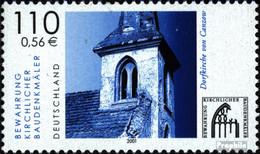 BRD 2199 (kompl.Ausg.) Postfrisch 2001 Baudenkmäler - BRD
