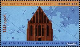 BRD 2195 (kompl.Ausg.) Postfrisch 2001 Katharinenkloster - BRD