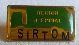 PINS PIN SIRTOM Région D'Epinal  88 Vosges - Pin's & Anstecknadeln
