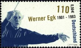 BRD 2186 (kompl.Ausg.) Postfrisch 2001 Werner Egk - BRD