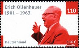 BRD 2174 (kompl.Ausg.) Postfrisch 2001 Erich Ollenhauer - BRD