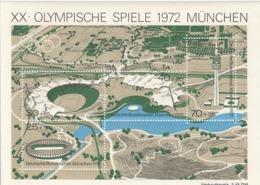 GERMANY Bundes Block 7,unused - Sommer 1972: München
