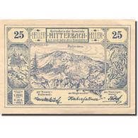 Billet, Autriche, Mitterbach, 25 Heller, Montagne, 1920, SPL Mehl:FS 618a - Autriche