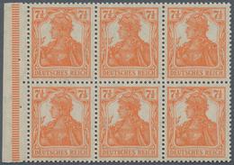 Deutsches Reich - Markenheftchenblätter: 1917, Heftchenblatt 7½ Pfg. Germania Postfrisch, Nicht Durc - Deutschland