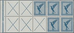 Deutsches Reich - Markenheftchenblätter: 1930, Heftchenblatt Mit 5 X 20 Pfg. Flugpostmarke Und 5 X X - Deutschland