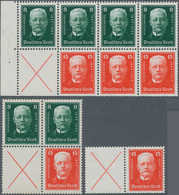 Deutsches Reich - Markenheftchenblätter: 1927, Hindenburgspende, Heftchenblatt 56 B Mit Heftchenblat - Deutschland