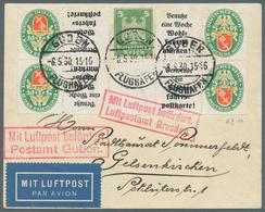 Deutsches Reich - Zusammendrucke: 1929, Nothilfe KZ 14 Im Paar Auf Luxus Brief, Tadellos Gestempelt - Zusammendrucke