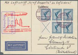 """Deutsches Reich - Zusammendrucke: 1931, 5 X 20 Pf Dkl'graublau """"Adler"""" Im 6er-Block Aus Heftchenblat - Zusammendrucke"""