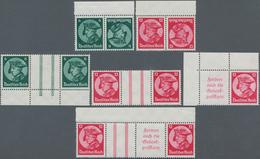 Deutsches Reich - Zusammendrucke: 1933, Fridericus, Alle 12 Zusammendrucke Zu Markenheftchen 32 Komp - Zusammendrucke