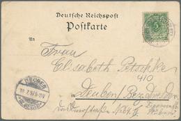 Deutsches Reich - Stempel: 1897, PLAUEN (VOGTL.) FESTPLATZ 17.7., Sonderstempel BoNr.1 Mit Frühdatum - Deutschland