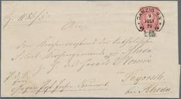 """Deutsches Reich - Hufeisenstempel: DANZIG: 1876/1879, """"DANZIG N.2"""", Je Voller Und Klarer Abschlag Au - Deutschland"""