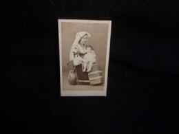 Photo Ancienne. Tirage Privé .Femme D '  Emile Cottinet ( Poète ) Et Son Fils Bayard & Bertall .Voir 2 Scans . - Photos