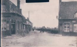 Eecke-Eke (Steenvoorde-Bailleul-Nord) - Route De Caëstre-Boucher? Sur La Gauche*animée-Edit. Huyghe-Mantez-Vasseur - Steenvoorde
