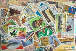 Obervolta Briefmarken-500 Verschiedene Marken - Obervolta (1958-1984)