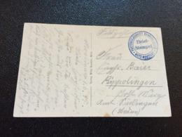 Feldpost 1.WK 1915 FESTUNGSLAZARETT KNABENSEMINAR METZ-MONTIGNY - Deutschland