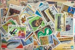 Obervolta Briefmarken-300 Verschiedene Marken - Obervolta (1958-1984)