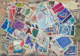 Europa Briefmarken-1.000 Verschiedene Marken CEPT - Sammlungen