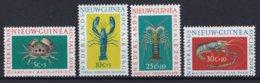 Nederlands Nieuw-Guinea - Sociale Zorg: Schaaldieren - Crustaceans/Krebstiere/les Crustacés - MNH - NVPH 78-81 - Nouvelle Guinée Néerlandaise