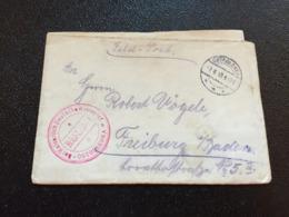 Feldpost 1.WK 1918 DER KAISERLICH DEUTSCHE KREISCHEF  OSTROLENKA - Briefe U. Dokumente