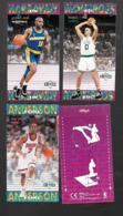W716 - CARTES POP UP KELLOGGS - BASKET NBA - TIM HARDAWAY - KENNY ANDERSON - ERIC MONTROSS - Basketball - NBA