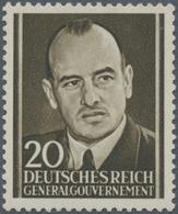 Kriegs- Und Propagandafälschungen: 1943, Britische Fälschung Für Das Generalgouvernement, 20 (Gr) Ma - Deutschland