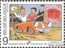 Belgien 2316 (kompl.Ausg.) Postfrisch 1987 Jugendphilatelie - Belgien