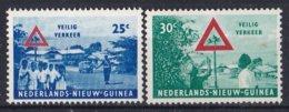 Nederlands Nieuw-Guinea - Veilig Verkeer - MNH - NVPH 73-74 - Nouvelle Guinée Néerlandaise