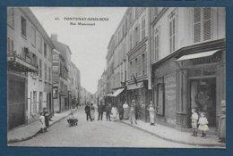 FONTENAY SOUS BOIS - Rue Mauconseil - Fontenay Sous Bois