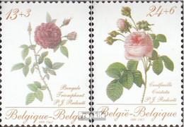 Belgien 2332-2333 (kompl.Ausg.) Postfrisch 1988 Rosen - Belgien