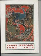 Afisul Belgian 1892-1914 - Muzeul National De Arta Al Romania  (Belgische Affiches) - Boeken, Tijdschriften, Stripverhalen