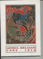 Afisul Belgian 1892-1914 - Muzeul National De Arta Al Romania  (Belgische Affiches) - Culture