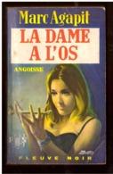 Angoisse. Marc Agapit. La Dame à L'os.  Fleuve Noir N° 159 De 1969. - Livres, BD, Revues