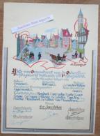 Akte Van Denombrent (Denombrement) Van De Dekenij Vrijdagsmarkt, Gent 1953, A. Laureys, Handgeschildert - Verzamelingen