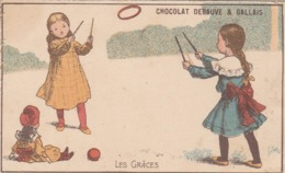 Chromo Chocolat Debauve & Gallais - Les Grâces - Chocolate
