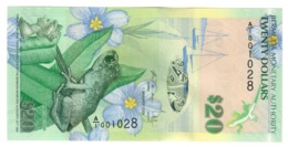 Bermuda 20 Dollars 2009 UNC .PL. - Bermudas